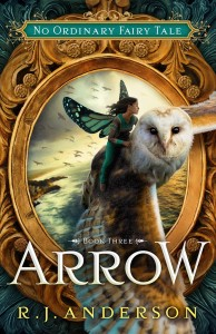 Enclave Books cover for Arrow (US only)