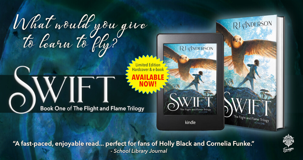 SWIFT available now in hardcover and ebook